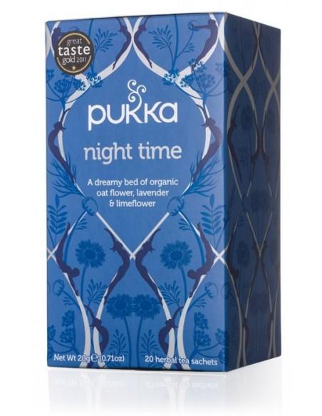 NIGHT ~ TIME ~ PUKKA 20 bolsitas HERBOLARIOS NATURA