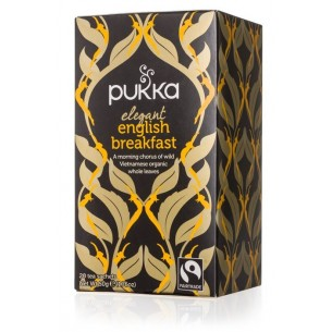 INFUSIÓN ELEGANT ENGLISH BREAKFAST PUKKA 20 bolsitas