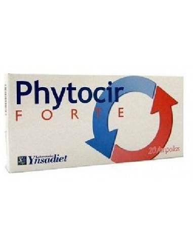 PHYTOCIR FORTE CIRCULATORIO 20 ampollas YNSADIET