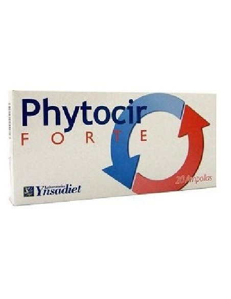 PHYTOCIR FORTE CIRCULATORIO YNSADIET 20 ampollas