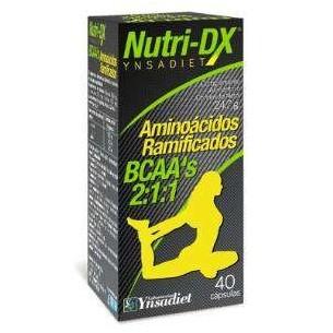 AMINOÁCIDOS RAMIFICADOS NUTRI DX YNSADIET 40 cápsulas