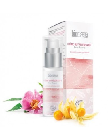 Crema de noche regenerante Bioregena 40 ml.