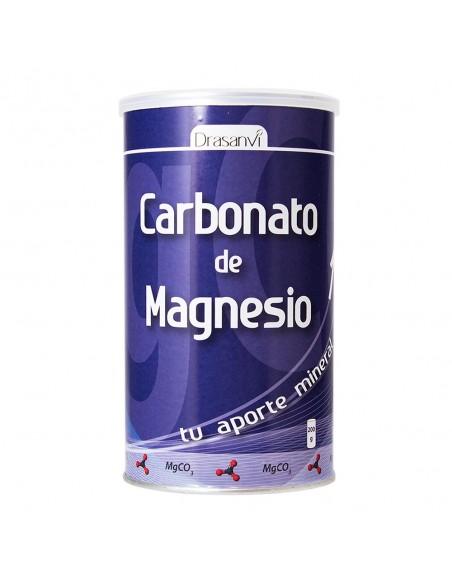 CARBONATO DE MAGNESIO EN POLVO DRASANVI 200 gr.