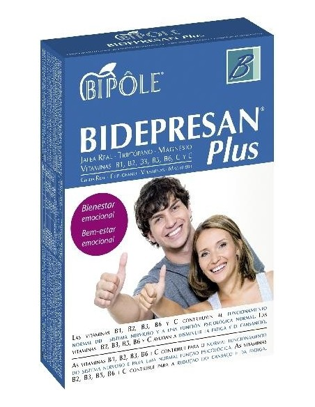 BIDEPRESAN PLUS BIPOLE DIETÉTICOS INTERSA 20 ampollas de 10 ml.