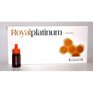 ROYAL PLATINUM CODIET 20 Ampollas