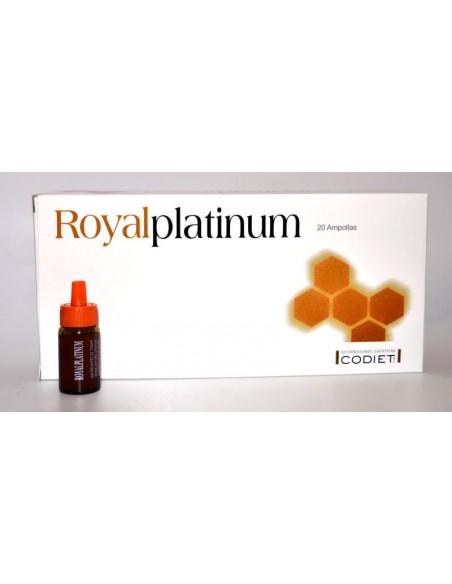 ROYAL PLATINUM CODIET 20 Ampollas