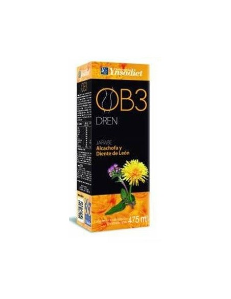 OB3 JARABE YNSADIET 475 ml. QUEMAGRASAS