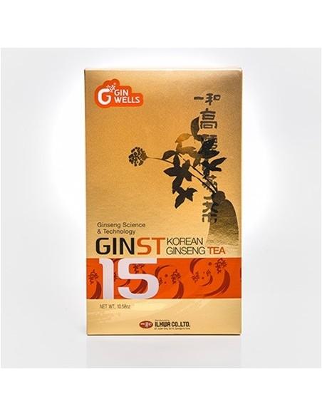 GINST KOREAN GINSENG TEA ILHWA 30 sobres Herbolarios Natura