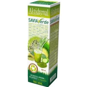 AKTIDRENAL SAVIA VERDE 500 ml. ~ TONGIL Herbolarios Natura
