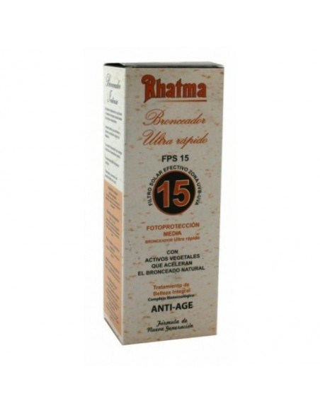 BRONCEADOR ULTRA RÁPIDO FPS 15 RHATMA 250 ml