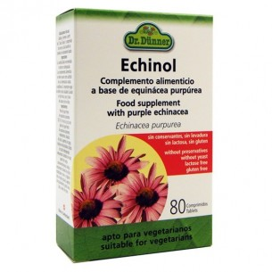 ECHINOL DR DUNNER 80 Comprimidos Herbolarios Natura