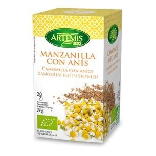 MANZANILLA CON ANIS ARTEMIS 20 bolsitas