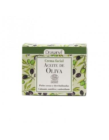 Crema facial Aceite de Oliva BIO 50 ml ~ Drasanvi ~ Herbolarios Natura