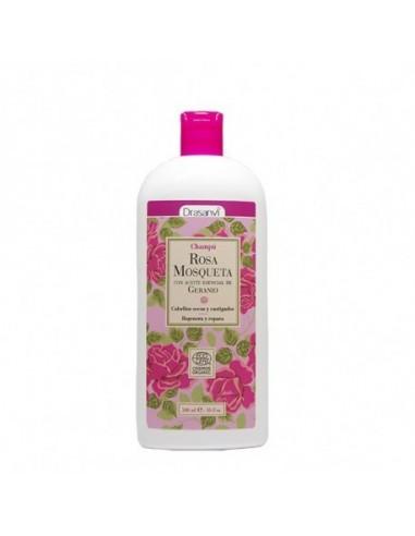 Champú rosa mosqueta Ecocert bio ~ Drasanvi 500 ml ~ Herbolariosnatura