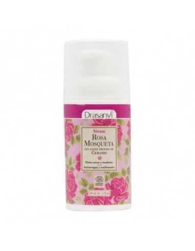 Serum facial rosa mosqueta Ecocert bio Drasanvi 30 ml ~ herbolariosnatura