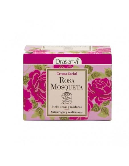Crema facial rosa mosqueta Ecocert bio Drasanvi 50 ml Fitoaromaterapia herbolarios natura