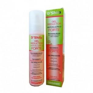 GEL REDUCTOR ANTICELULÍTICO FORTE D`SHILA 200 ml.