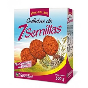 GALLETAS 7 SEMILLAS HIJAS D SOL