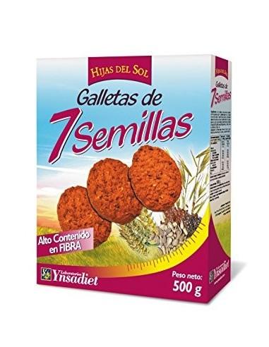 GALLETAS 7 SEMILLAS HIJAS D SOL - Herbolarios Natura