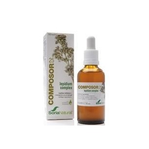 COMPOSOR 25-LEPIDIUM COMPLEX 50 ml. SORIA NATURAL