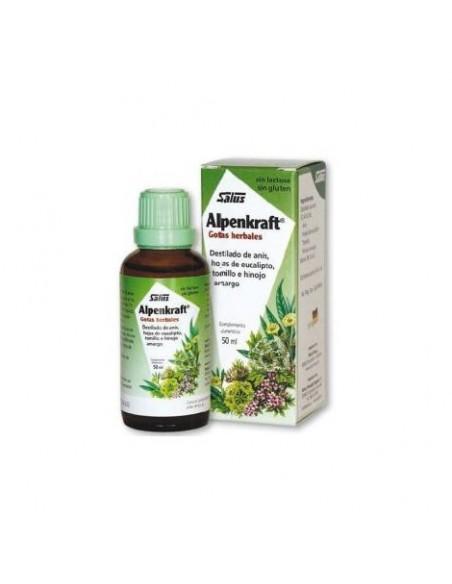 ALPENKRAFT GOTAS HERBALES SALUS 50 ml.