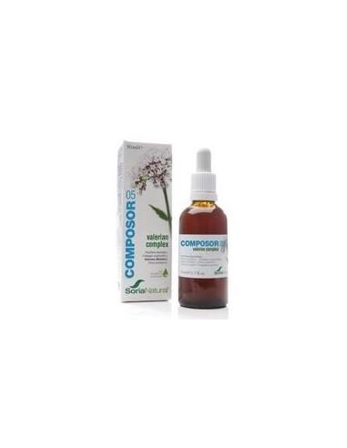 COMPOSOR 5-VALERIANA COMPLEX 50 ml. SORIA NATURAL