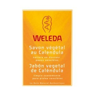 JABON VEGETAL DE CALENDULA WELEDA 100 gr.