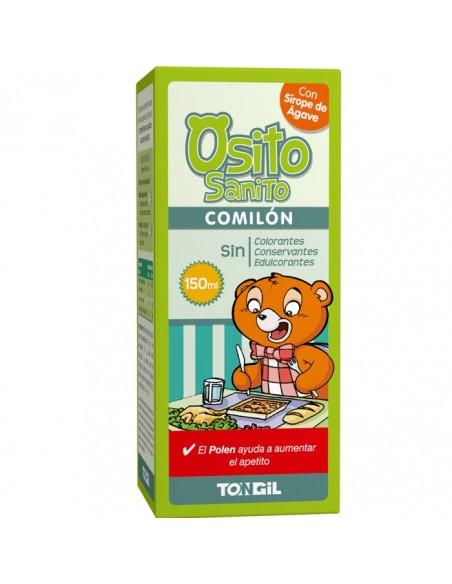 OSITO SANITO ~ COMILÓN Tongil 150 ml. Jarabe abre el apetito