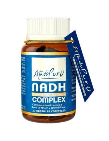 NADH ~ ANTIOXIDANTE ~ ESTADO PURO ~ TONGIL 20 cap.