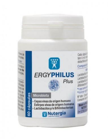 ERGYPHILUS ~ Plus ~ NUTERGIA 60 Capsulas probiotico