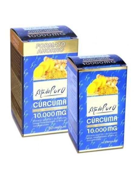 CURCUMA ~ ESTADO PURO ~ TONGIL 40 cap. Antiinflamatorio