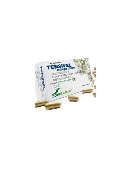 21-C TENSIVEL CRATAEGUS COMPLEX 60 cápsulas SORIA NATURAL