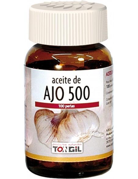 ACEITE DE AJO 500 TONGIL 100 perlas