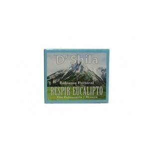 BALSAMO PECTORAL RESPIR EUCALIPTO D`SHILA 50 ml.