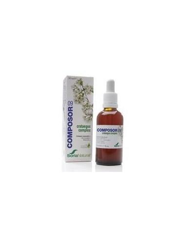 COMPOSOR 9-CRATAEGUS 50 ml. SORIA NATURAL