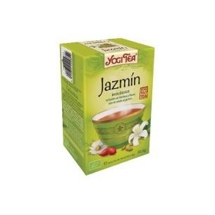 YOGI TEA JAZMIN TE VERDE INFUSION 17 bolsitas BIO