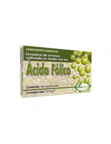 ÁCIDO FÓLICO 64 comprimidos SORIA NATURAL