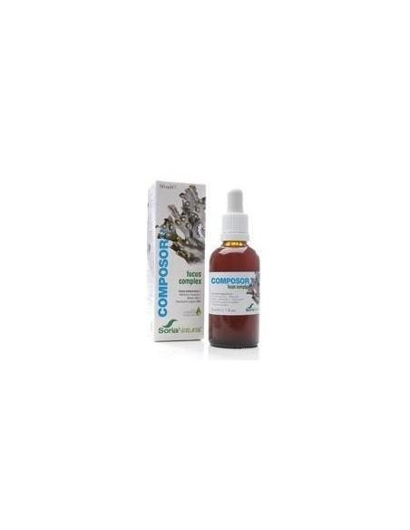 COMPOSOR 21-FUCUS COMPLEX SORIA NATURAL 50 ml.