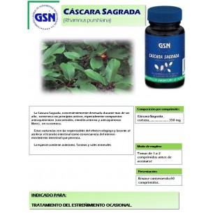 CASCARA SAGRADA GSN 60 comprimidos
