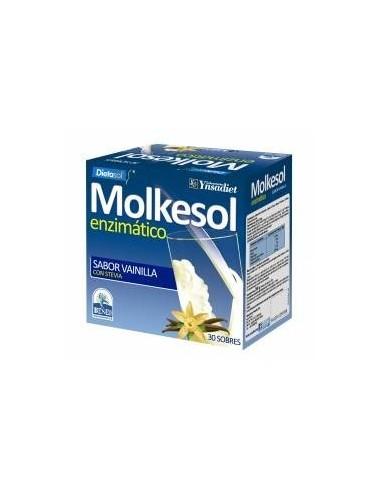 MOLKESOL B+VAINILLA ENCIMATICO 30 SOBRES