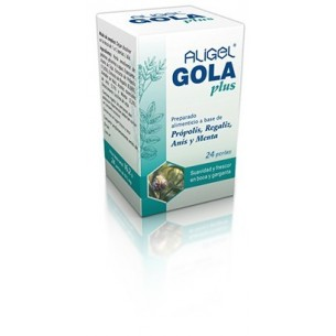 ALIGEL GOLA PLUS TONGIL 24 perlas