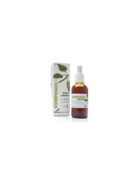 COMPOSOR 7-BETULA COMPLEX 50 ml. SORIA NATURAL