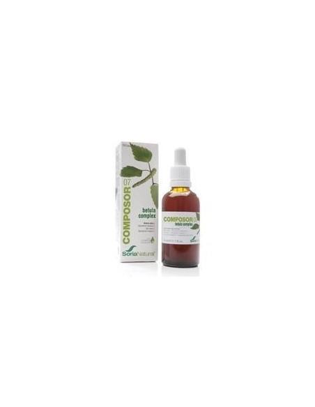 COMPOSOR 7-BETULA COMPLEX 50 ml. SORIA NATURAL