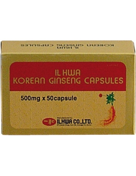 GINSENG IL HWA TONGIL 50 cápsulas
