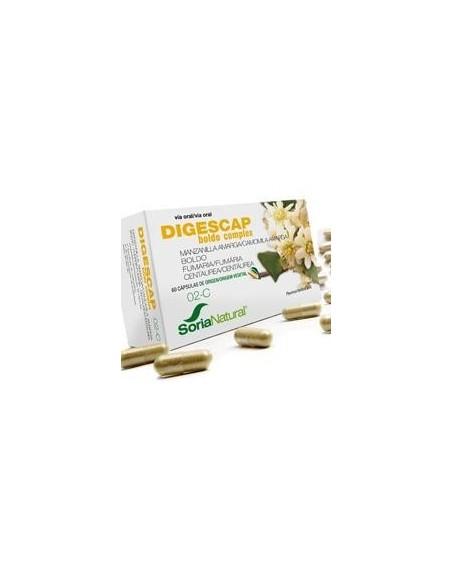 2-C DIGESCAP BOLDO COMPLEX 60 cápsulas SORIA NATURAL