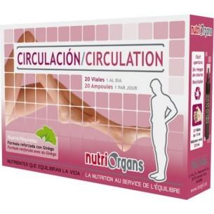 Circulación Nutriorgans Tongil 20 Viales
