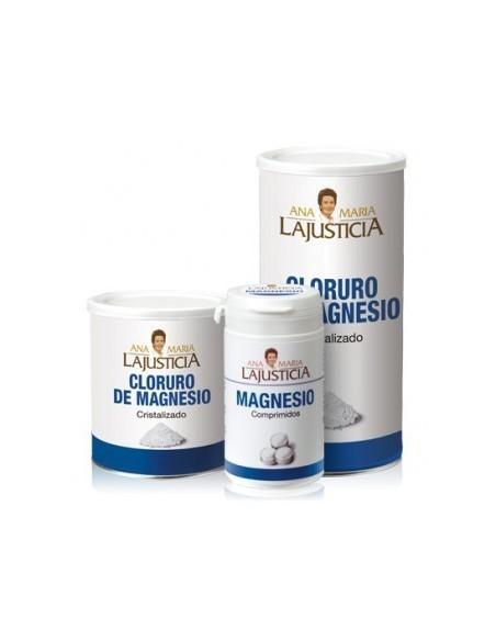 CLORURO DE MAGNESIO CRISTALIZADO ANA MARÍA LAJUSTICIA 400 gr.