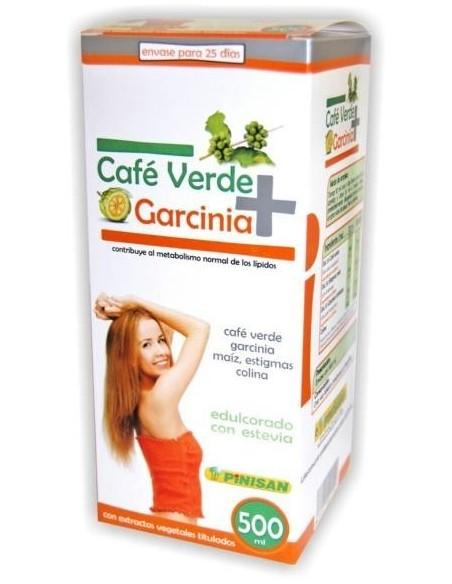 CAFE VERDE + GARCINIA PINISAN 500 ml.