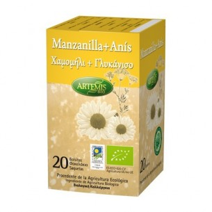 MANZANILLA CON ANIS 20 bolsitas ARTEMIS