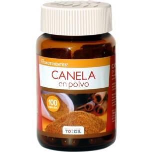 CANELA EN POLVO TONGIL 100 cápsulas